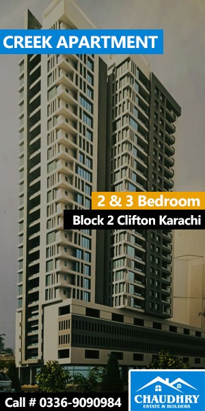 Creek Apartment Clifton Karachi