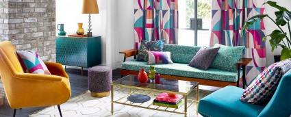 Be brave with bold colors