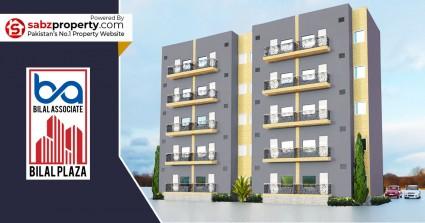 Bilal Plaza – an affordable housing project in Malir City Karachi