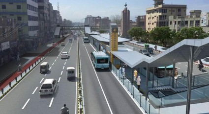 Peshawar BRT project inaugurated by Prime Minister