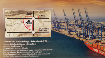 The Gwadar Golf City is all Ripe for Investments
