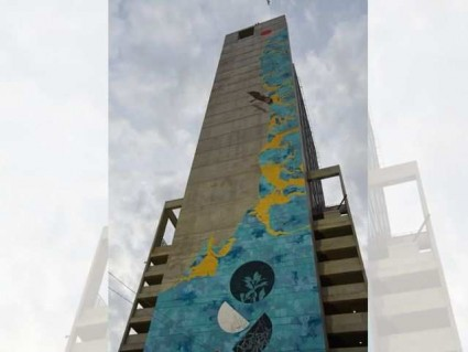 World's tallest mural unveiled in Karachi