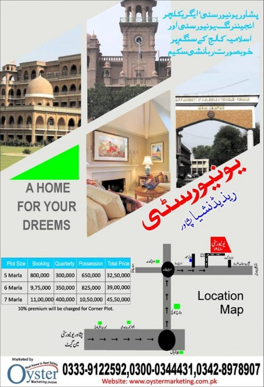 Property for Sale in university Residencia, university road with wall to wall peshawar university, university-road-peshawar-8648, peshawar, Pakistan
