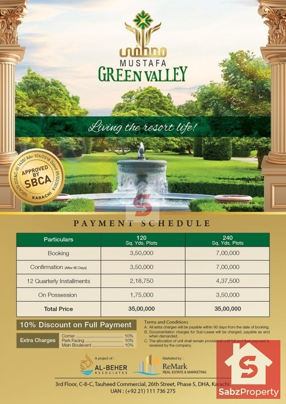 Property for Sale in Mustafa Green Valley, Main Super highway, karachi, Pakistan