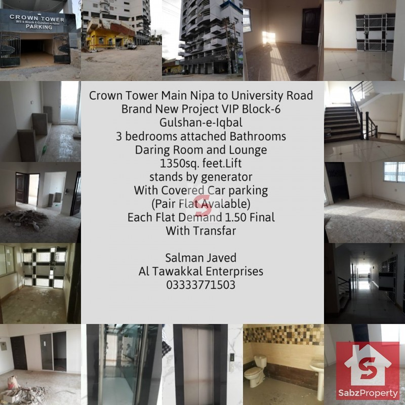 Property for Sale in gulshan-e-iqbal-karachi-block-6-4370, karachi, Pakistan